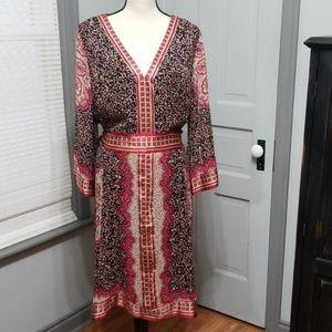 I. N. C Kimono-Style Dress